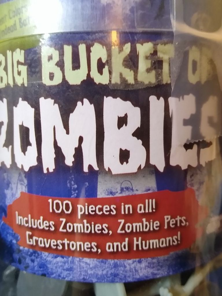 Big Bucket Of Zombies