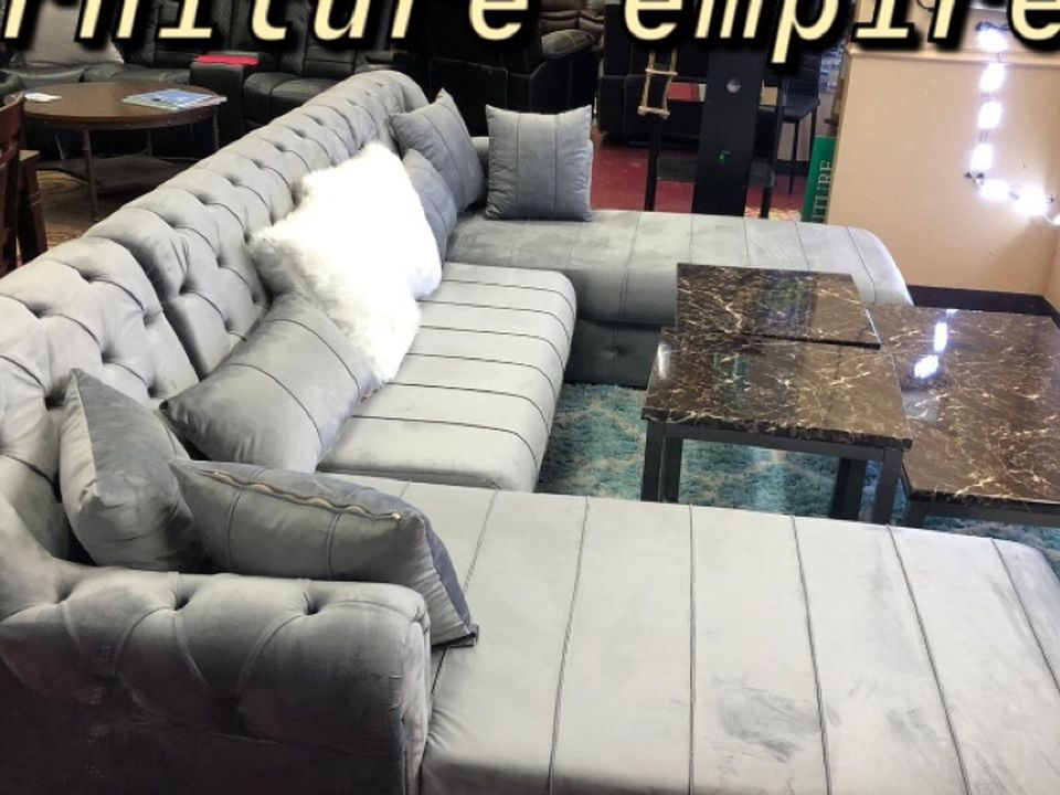 Furniture Living Room Sectional Finance Available