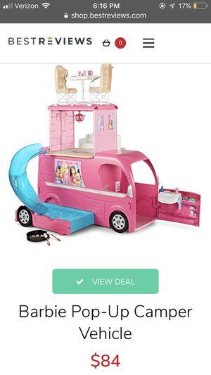Barbie pop up camper for Sale in Avon, OH