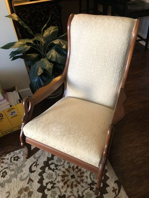 Strange New And Used Rocking Chair For Sale In Raleigh Nc Offerup Ibusinesslaw Wood Chair Design Ideas Ibusinesslaworg