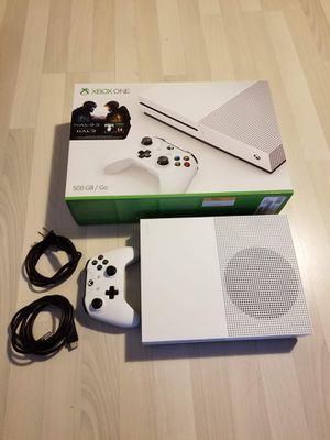 Xbox One S 500GB - plus controller dock and game for Sale in Seattle, WA