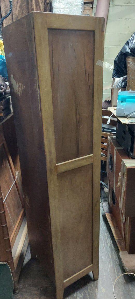 Pine Veneer Storage Cabinet