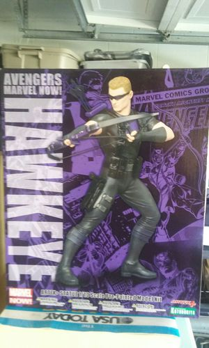 Stan Lee Signed Hawkeye action figure for Sale in Lake Mary, FL