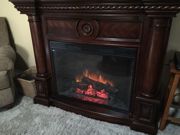 Twin Star Electric Fireplace 33ef010gra For Sale In
