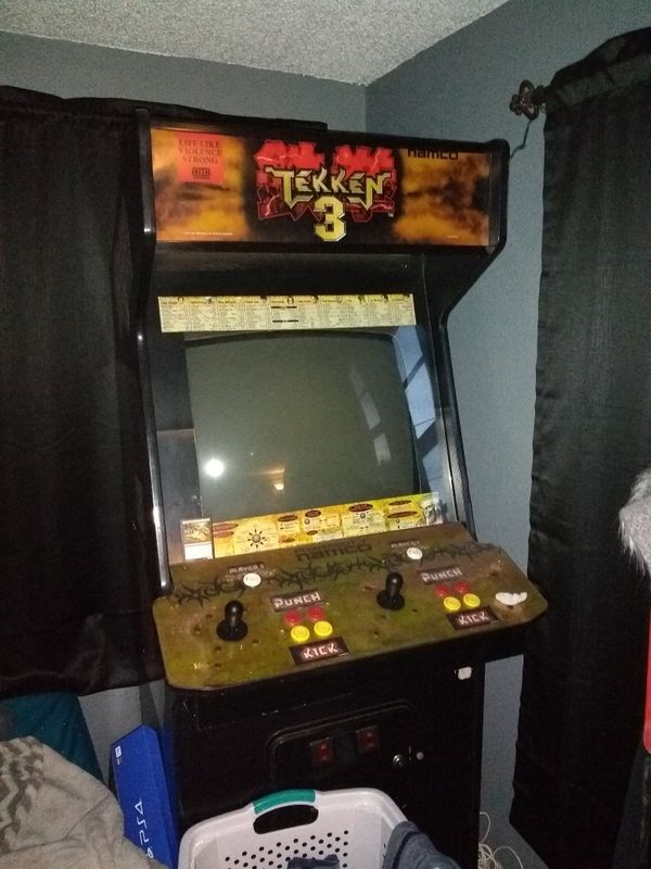 Tekken 3 Arcade Need Gone Today For Sale In Winter Haven Fl Offerup