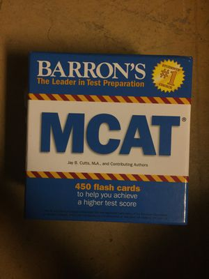 Mcat Flash Cards For Sale In Pompano Beach Fl Offerup