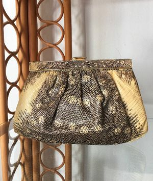 Vintage Python Purse/Clutch Made in Italy for Sale in Tampa, FL