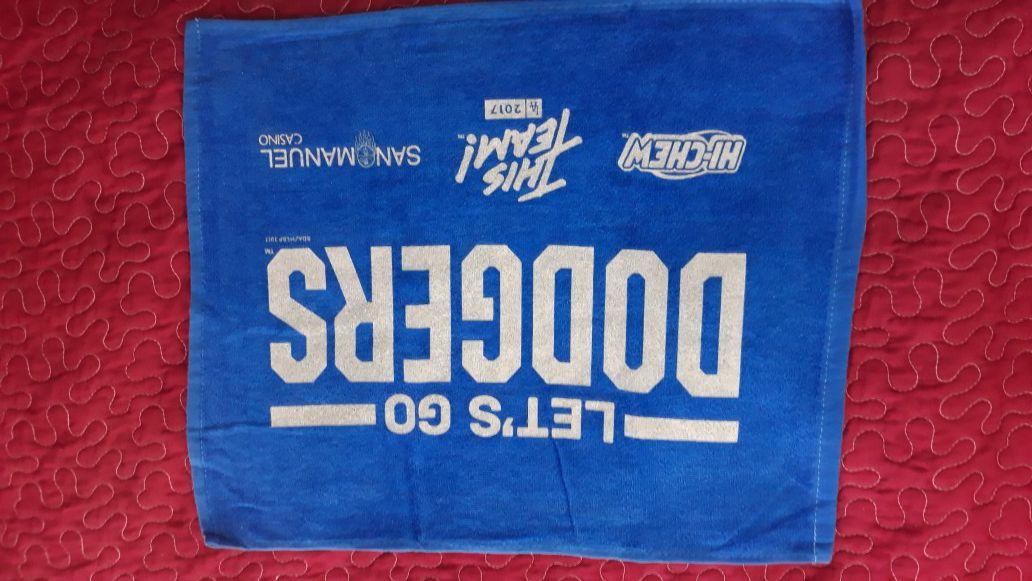 Dodgers rally towel $5 each