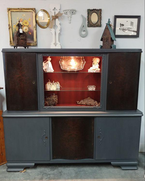 Vintage Art Deco China Cabinet For Sale In Jacksonville Fl Offerup