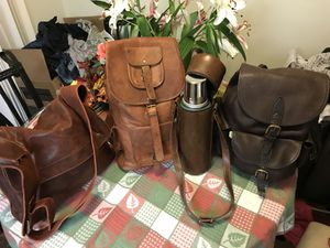Top grain leather bags for Sale in Denver, CO