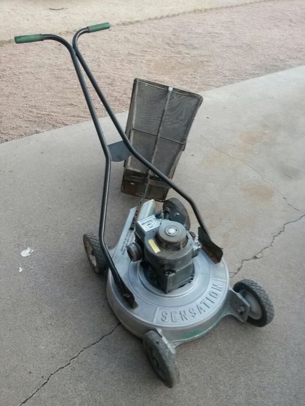 Sensation 21 Quot Cut 3 5 Hp Lawnmower With Grass Catcher And