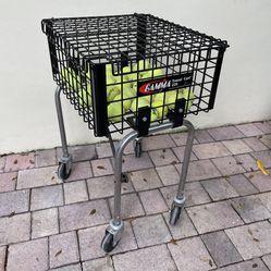 Gamma Travel Cart 220 Ballhopper Tennis Ball Training Cart Thumbnail