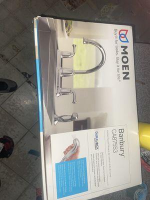 Photo Moen faucet brand new