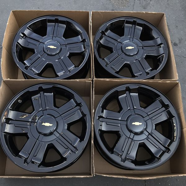 chevy rims wheels inch silverado oem factory gloss offerup sell