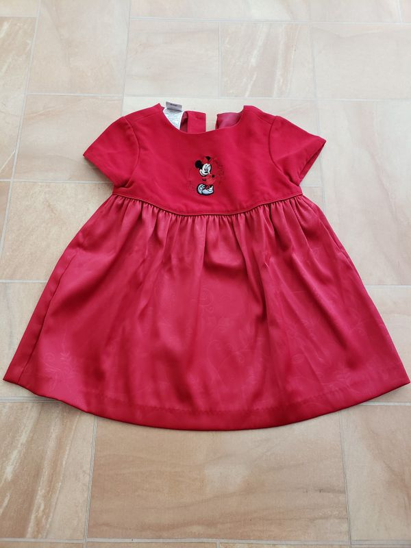 b047f8f75d8ed Toddler Girl s Minnie Mouse Holiday Dress for Sale in Brea