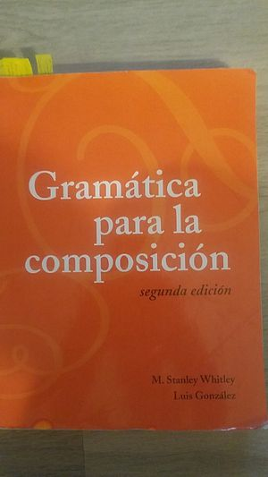 Spanish grammar for writing textbook for Sale in Nashville, TN