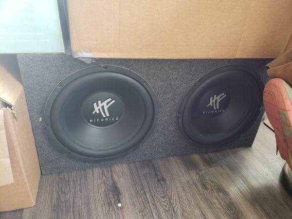 Astounding 2 Hifonics 12 Subwoofer Speaker Box Wiring For Sale In Fullerton Wiring 101 Olytiaxxcnl