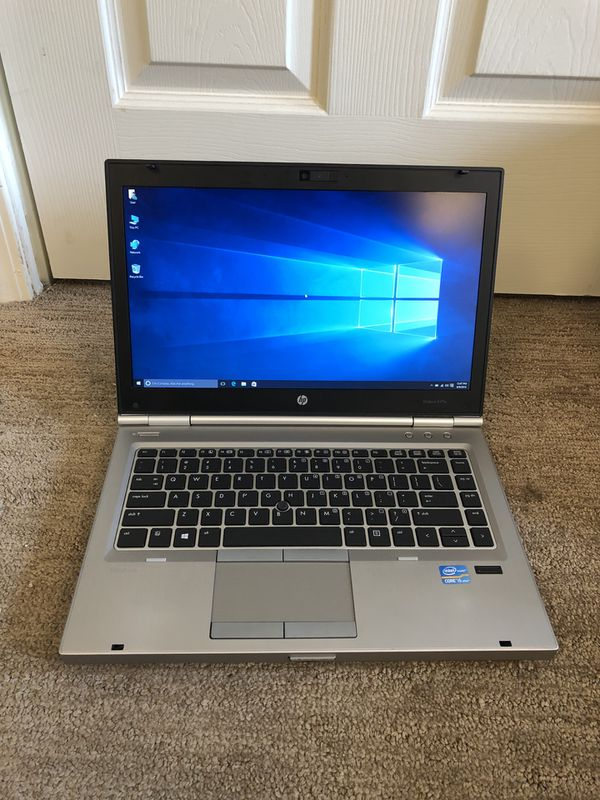 HP EliteBook 8470p Laptop Core i5 3rd gen 8gb Ram 320gb HD Windows 10 Pro  for Sale in Hawthorn Woods, IL - OfferUp