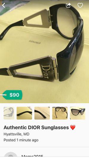 Dior Sunglasses ! for Sale in Silver Spring, MD
