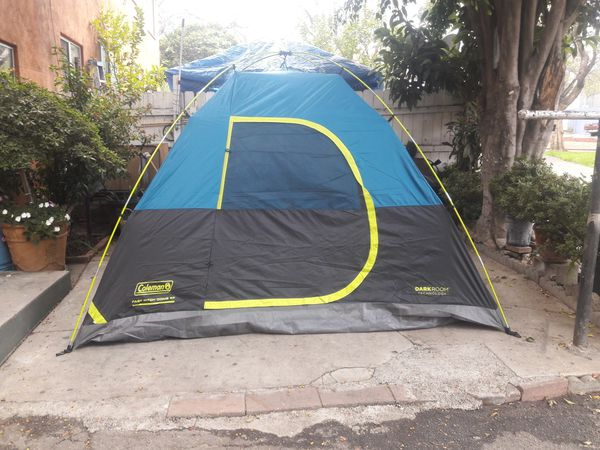 new style 31adc 0f067 6 person Coleman darkroom technology tent for Sale in Vernon, CA - OfferUp