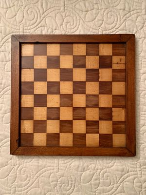 "Beautiful vintage checkerboard/game board. It is 11 1/2"" x 11 1/4"". for Sale in Falls Church, VA"