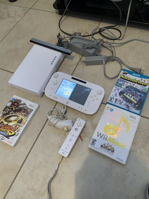 Photo Nintendo Wii U works good as is read for details