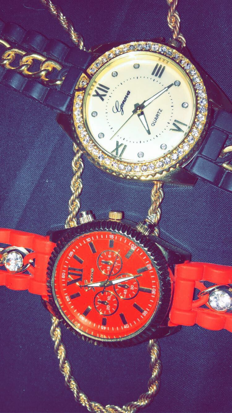 Watches & rope chain