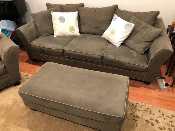 Sofa Love Seat And Ottoman H M Richards