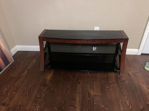 Photo Tv Stand 3 glass Piece