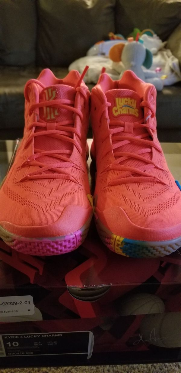 finest selection 42fe0 259fe Kyrie 4s Lucky Charms for Sale in Houston, TX - OfferUp