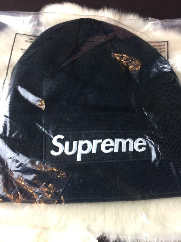 80e1d308d8c30 Supreme Box Logo (bogo) New Era Beanie- Black for Sale in Santa ...