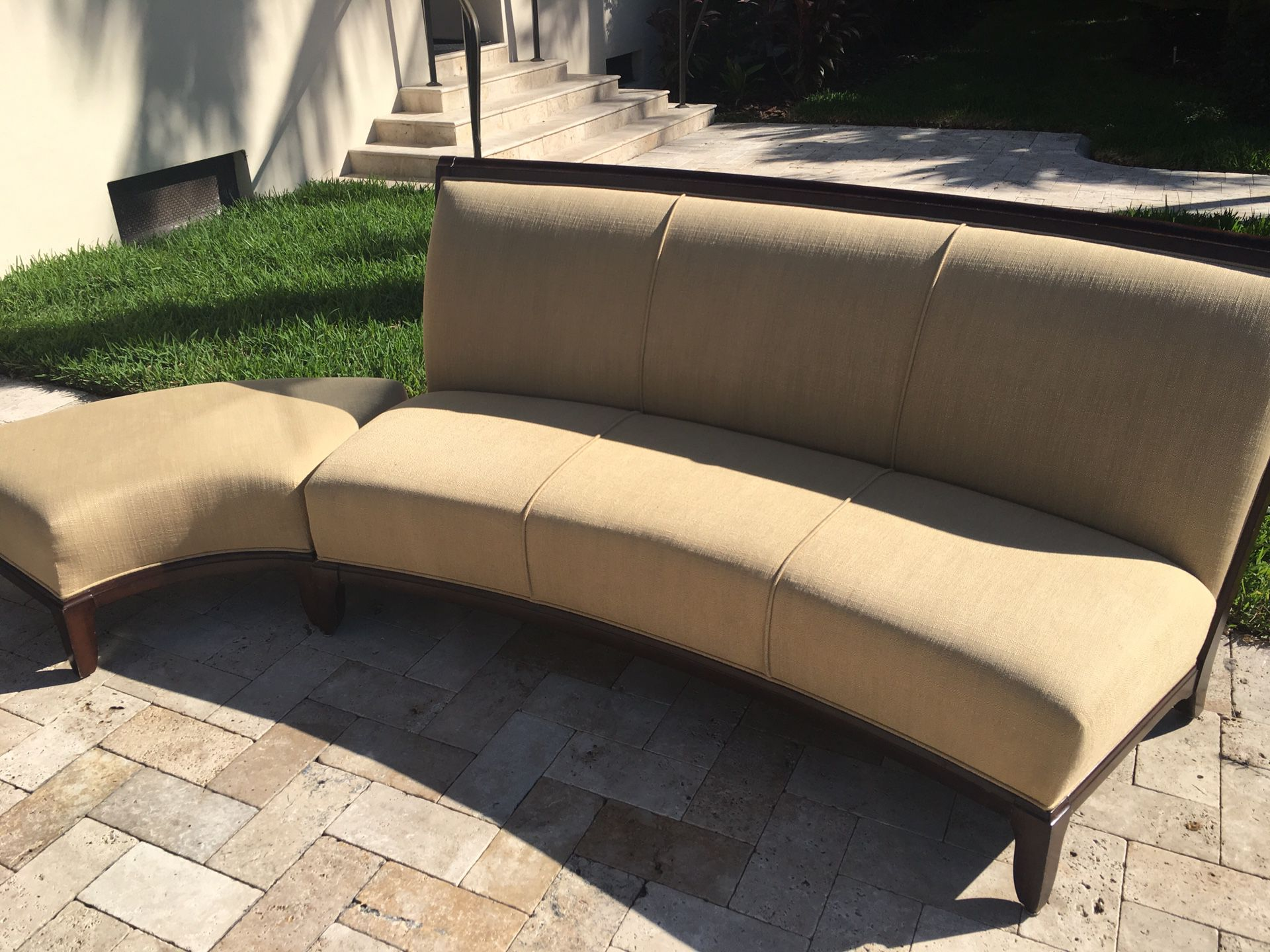Two couches plus ottoman for sale