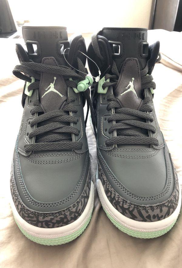 c314a6d442d331 New Nike Air Jordan Spizike (GS)Black Mint Gray Sz 5.5Y for Sale in ...