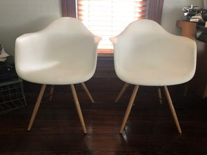 Mid century style eames chairs for sale  Stillwater, OK