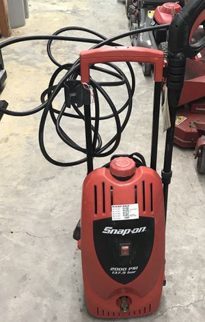 SNAP-ON ELECTRIC PRESSURE WASHER 2000 PSI for Sale in Orlando, FL