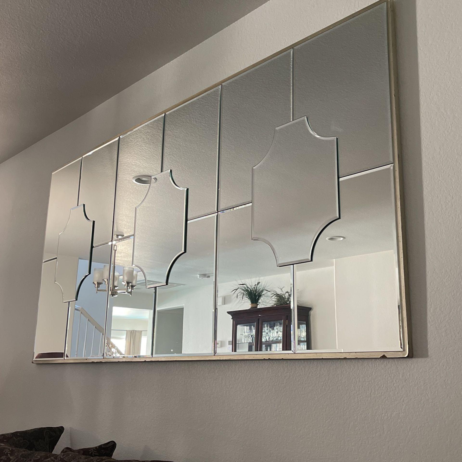 Z Gallery Champagne Beveled Mirror