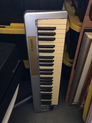M-audio keystation 49e midi keyboard for Sale in Altamonte Springs, FL