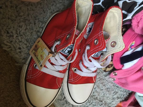 6914c6de1cc9 Little kids red converse for Sale in Portsmouth