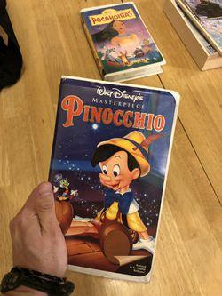 Disney movies VHS Thumbnail