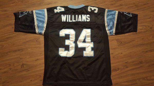 on sale 900fe a8fd9 REEBOK Carolina Panthers DeANGELO WILLIAMS NFL Jersey