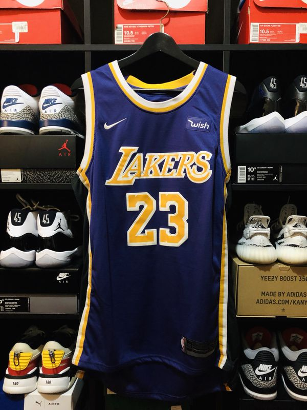 """hot sale online 03092 090c7 NIKE LEBRON JAMES LAKERS """"STATEMENT"""" SWINGMAN JERSEY for Sale in Tracy, CA  - OfferUp"""