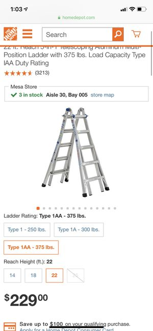 New and Used Ladder for Sale in Phoenix, AZ - OfferUp