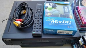 VHS to DVD combo for Sale in Phoenix, AZ