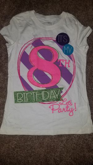 8th Birthday Shirt From Childrens Place For Sale In Fresno