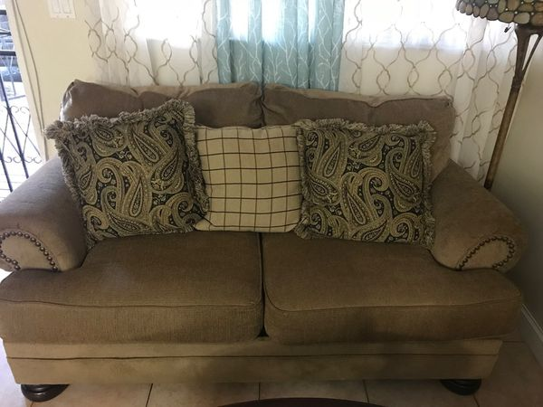 Used Sofa Set And Love Seat Chair Furniture In Pembroke Pines Fl Offerup