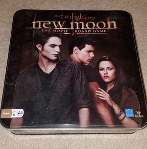 Twilight Saga: New Moon Movie Board Game for Sale in Elkridge, MD