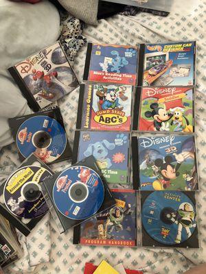 Kids Disney, Tonka Trucks CD ROM games total 19 for Sale in Spring Valley, CA