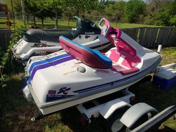 Kawasaki Sc jet ski Sport Cruiser side by side jetski! Lake ready ...