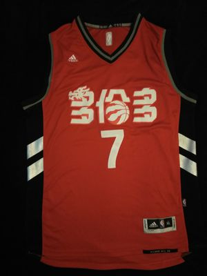 Kyle Lowry Toronto Raptors Chinese New Year Jersey #7 XL for Sale in Atlanta, GA