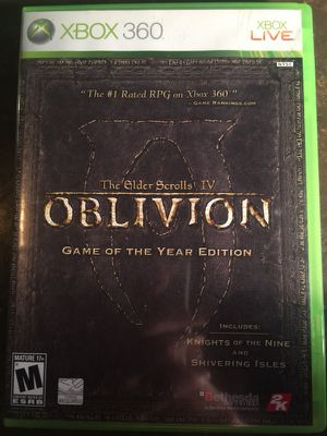 Elder Scrolls IV: Oblivion GOTY Edition for Sale in St. Louis, MO